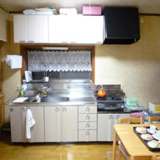 楽しくお料理キッチン工事