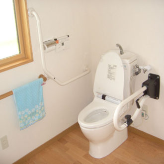 介護用にリフォームしたトイレ